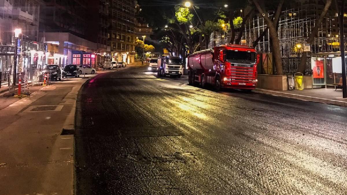 Mónaco estrenará asfalto