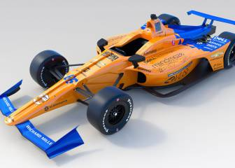 Alonso, coche de media tabla para ganar Indianápolis