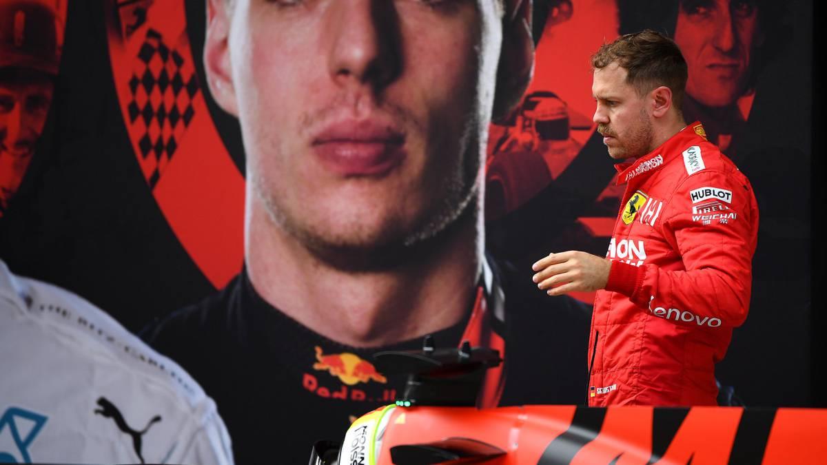 Vettel se ve en su \