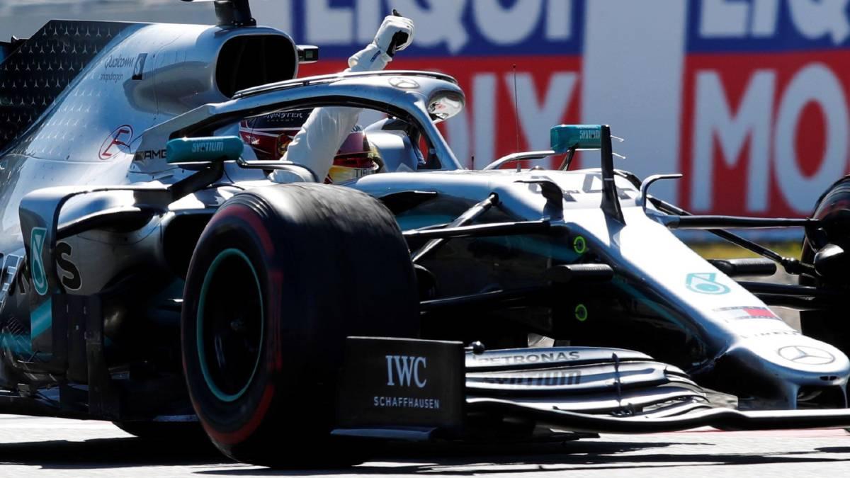 Lewis Hamilton (Mercedes W10), campeón del GP de España de F1 2019 en Barcelona.