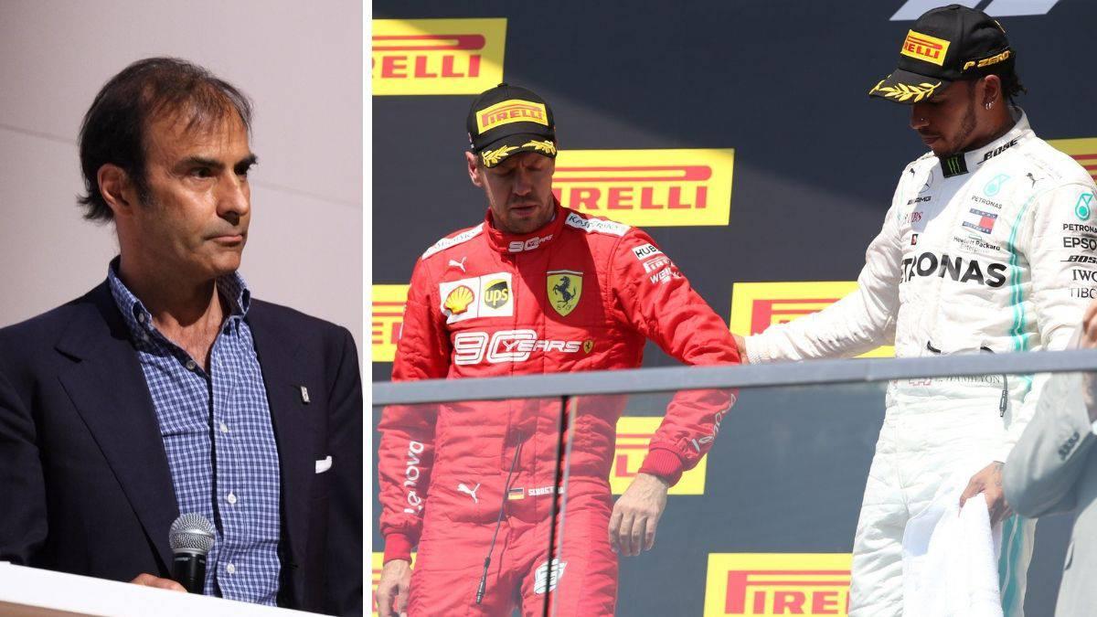 Emanuele Pirro, uno de los comisarios que sancionó a Vettel en Canadá.