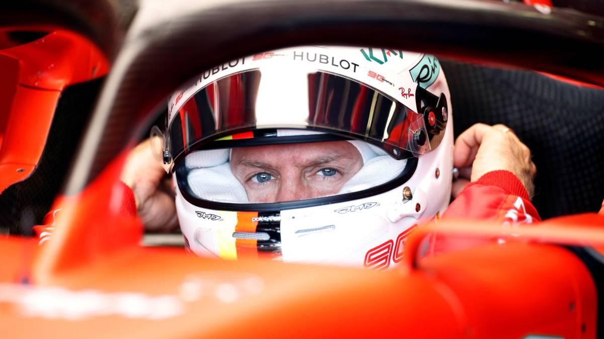 ¿Qué le pasa a Vettel?