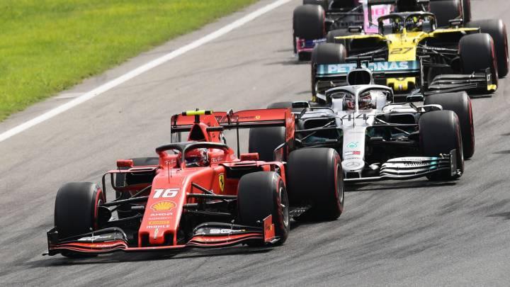 Resumen F1 carrera GP de Italia 2019: victoria de Leclerc - AS.com
