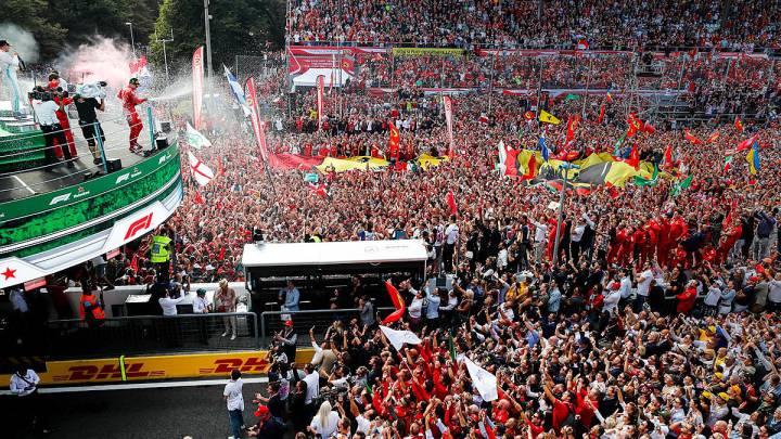 El Ferrari de Leclerc gana en Monza y anima un poco el mundial
