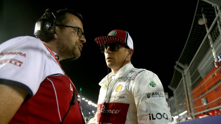 El día que el ingeniero se cansó de escuchar a Kimi Raikkonen