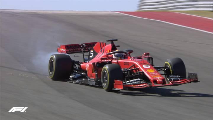 Via Crucis de Vettel en Austin