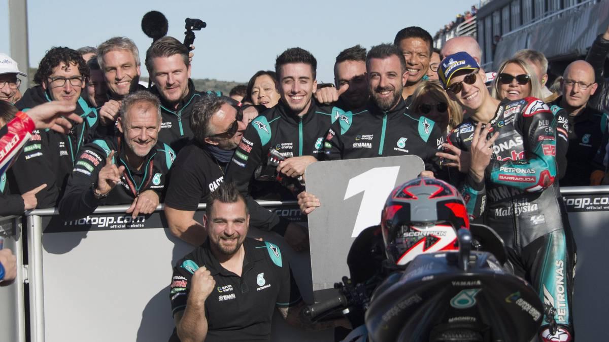 Resultados MotoGP: parrilla de salida Gran Premio de Valencia - AS