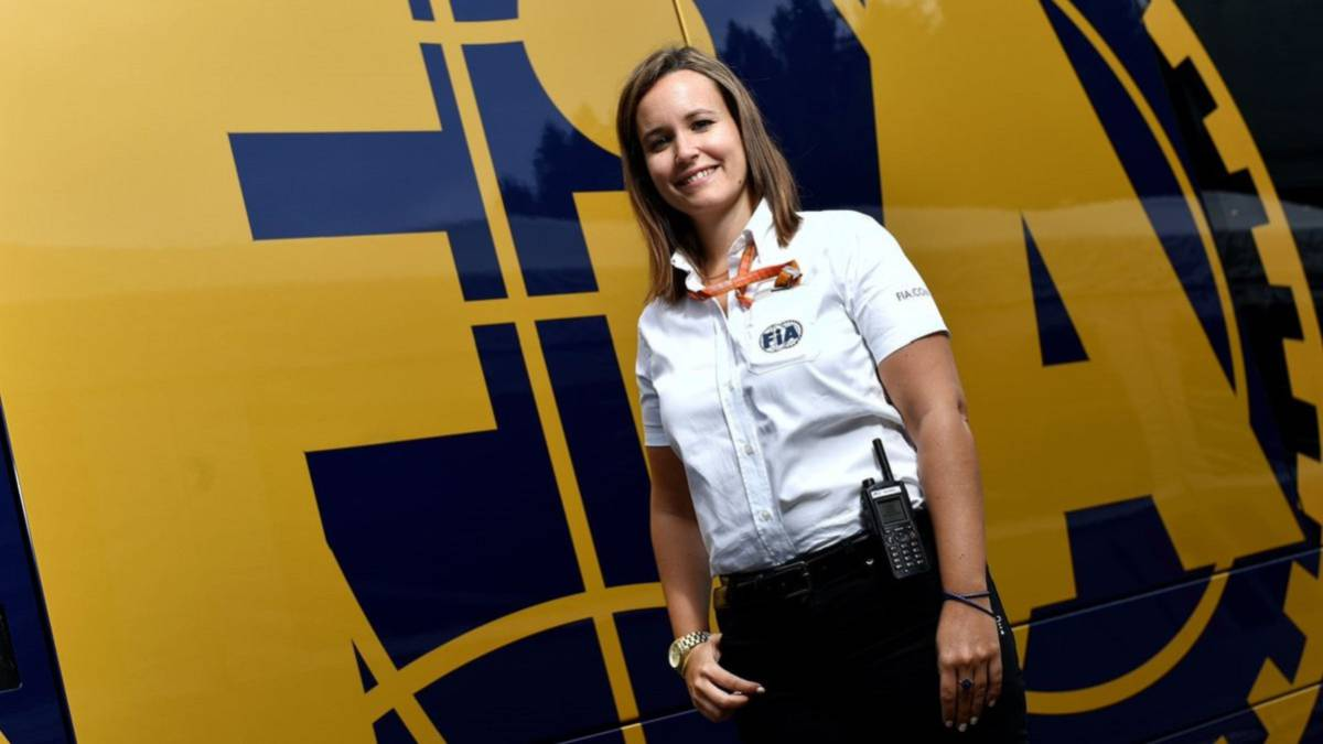 La española Silvia Bellot será directora de carrera de F2 y F3 - AS