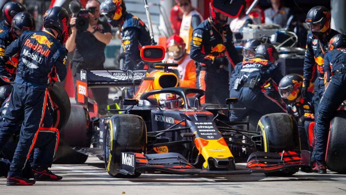 Red Bull Honda revienta el tablero de juego de la F1 - AS