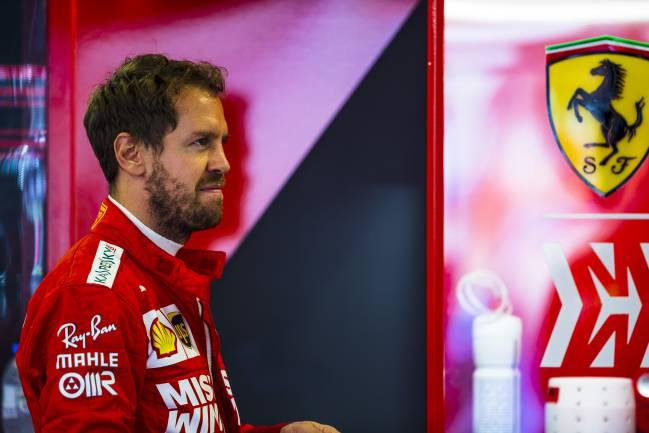 Sebastian Vettel, en Abu Dhabi.