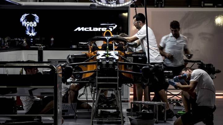 Así será el McLaren MCL35 de 2020. Fórmula 1.