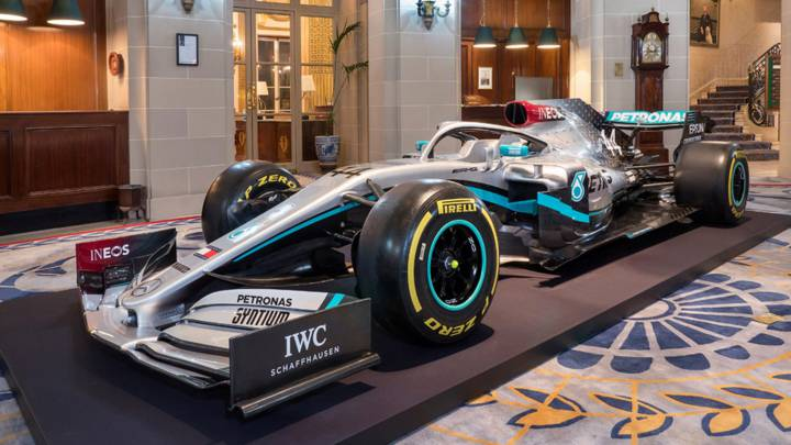 La decoración 2020 del Mercedes F1.