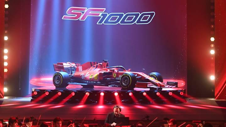 Ferrari SF1000 (F1 2020).