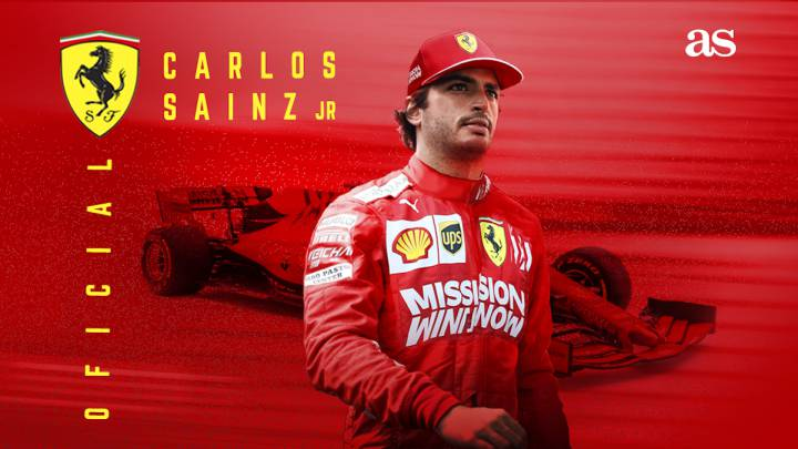 Carlos Sainz ficha por Ferrari.