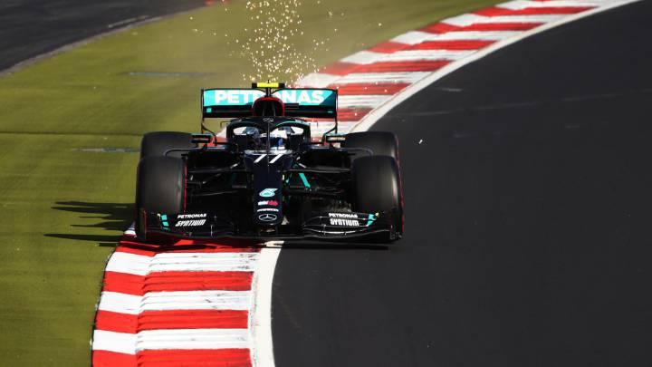 Valtteri Bottas (Mercedes W11). Nurburgring. F1 2020.