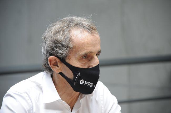 Alain Prost, durante la entrevista con AS.