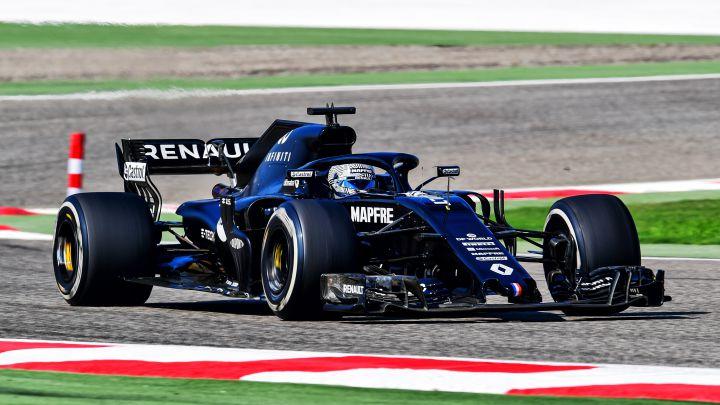 Fernando Alonso (Renault RS18). Bahréin. F1 2020.