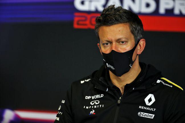 Marcin Budkowski (Renault). Estambul, Turquía, F1 2020.