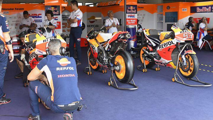 Honda apuesta por Marc Márquez y por la 'Triple Corona'