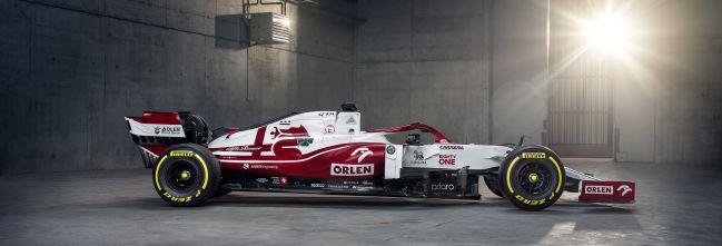 El Alfa Romeo C41. (F1 2021).