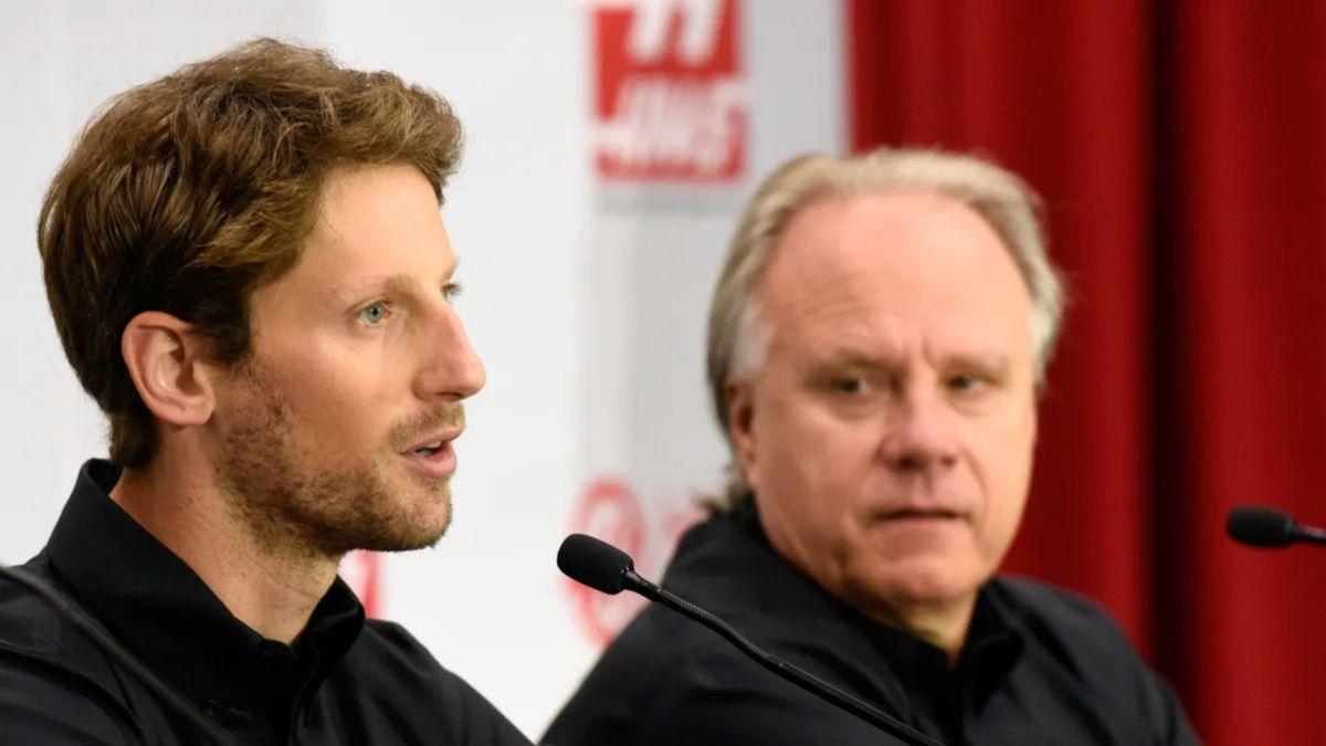 """Haas no da ni un euro a Grosjean """"para ver cómo se mata"""""""