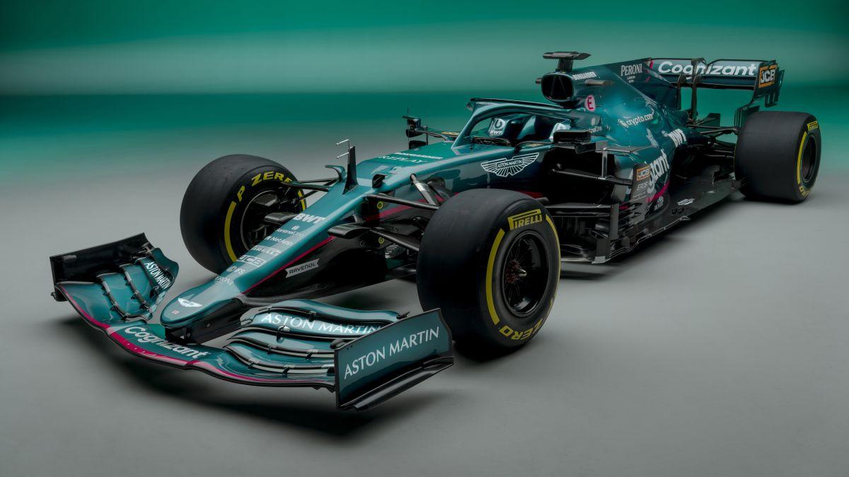 Aston Martin introduces the classiest car on the grid