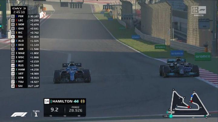 Así fue el momento en el que Alonso adelantó a Hamilton