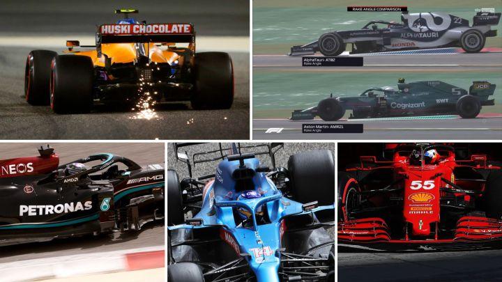 Del difusor sospechoso de McLaren a la joroba de Alpine
