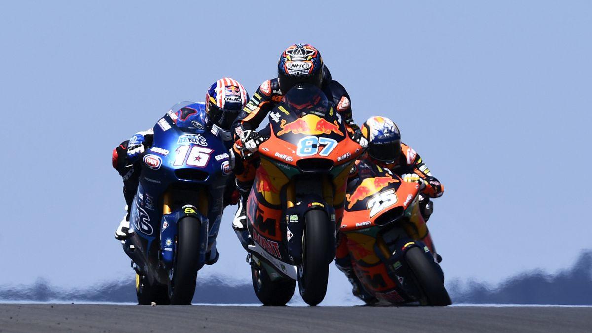 Doblete español en Moto2 con Raúl Fernández y Arón Canet