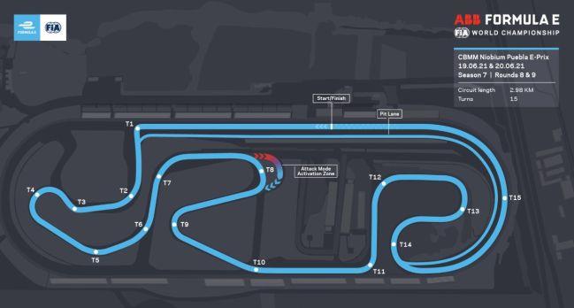 Puebla Circuit.