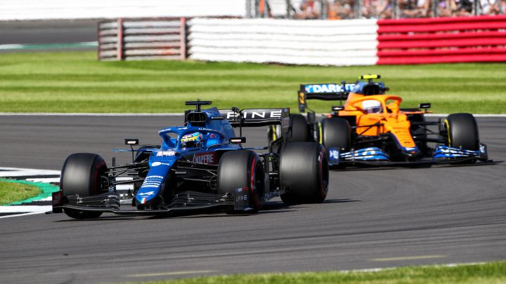 F1 | Sprint en Silverstone: Alonso hace magia - AS.com