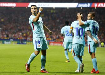 Spoils shared as Suárez cancels out Saúl strike at the Wanda