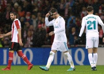 Real Madrid frustrated in Bilbao as Ramos sees red again