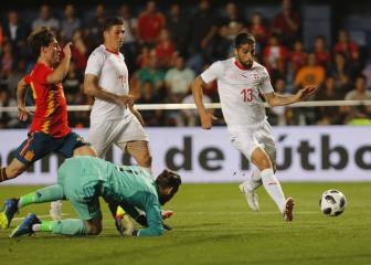 Lacks of goals and a De Gea fumble sees Spain draw with Switzerland