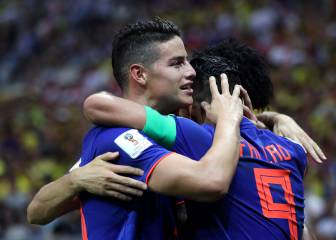Colombia's fab four send Poland packing