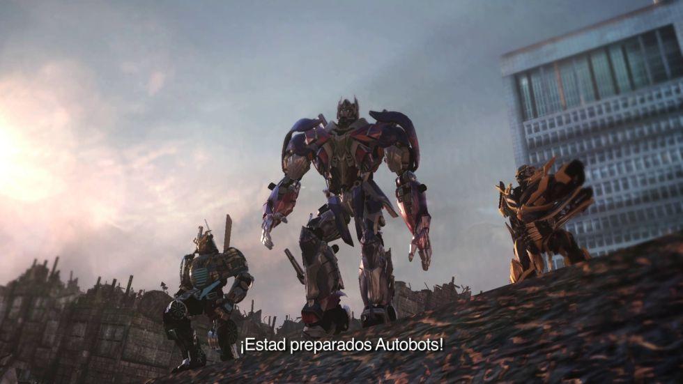 Nuevo triler de Transformers The Dark Spark  AScom