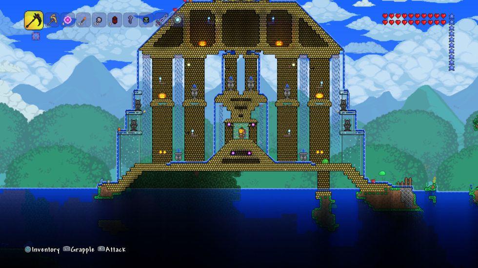 casas modernas terraria