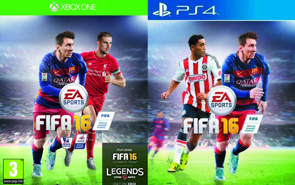 FIFA 16: Jordan Henderson y Marco Fabián, en la portada - AS.com