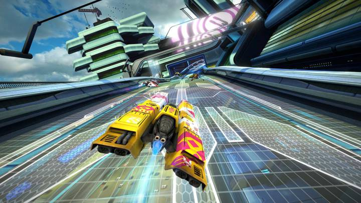 WipEout Omega Collection: velocidad extrema en PS4