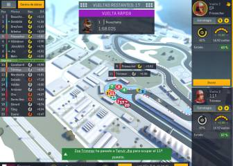 Motorsport Manager Mobile 2: las carreras desde el box