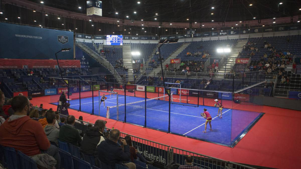 La pista central del Master Final del World Padel Tour 2016.