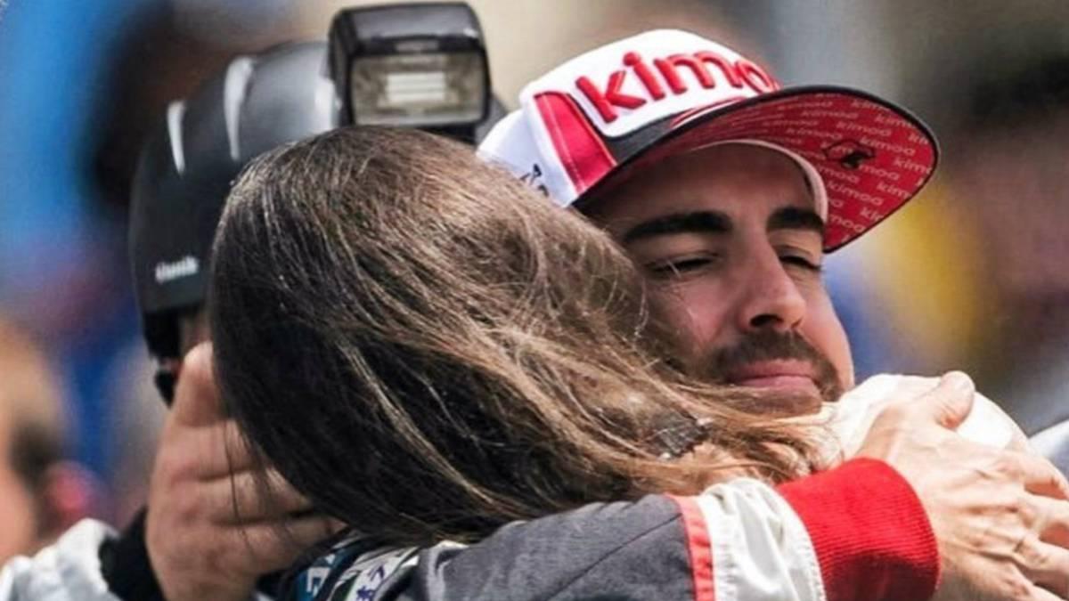 La relación de ensueño de Fernando Alonso y Linda Morselli
