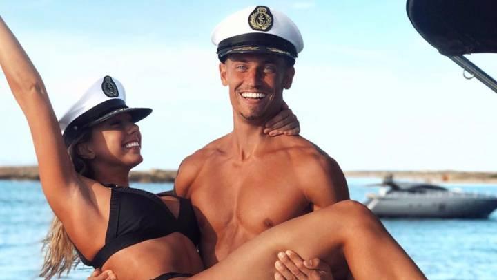 Patricia Noarbe y Marcos Llorente, pareja Fit.