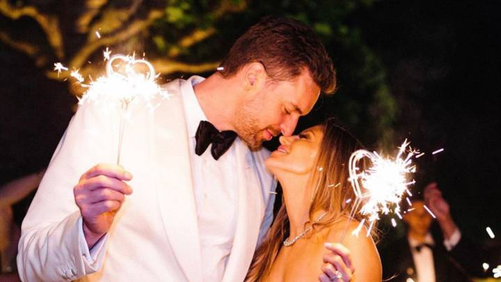 Pau Gasol y su esposa cumplen un año de casados.