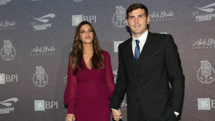 Sara Carbonero e Iker Casillas, Noviembre del 2015.
