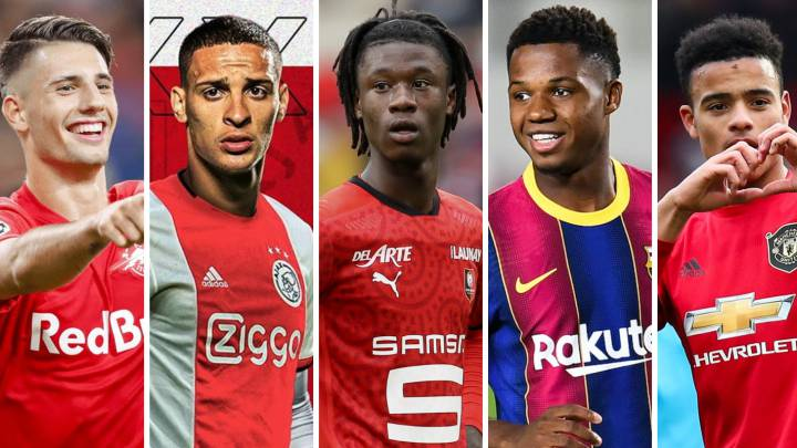 Ones to watch in the Champions League: Ansu, Camavinga, Szoboszlai...