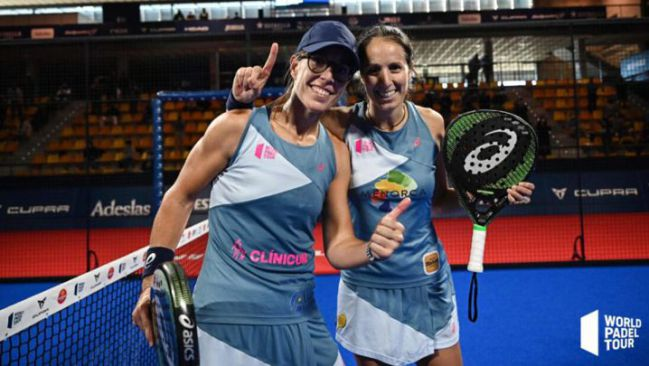 Gemma Triay and Lucía Sainz, couple one of the World Padel Tour 2020.
