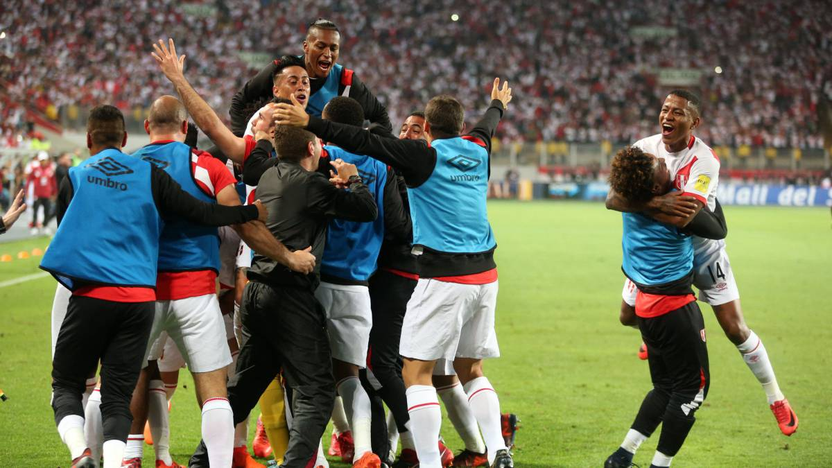 Peru are in the 2018 World Cup