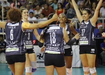 9bbff04120e27 Voley femenino  San Martín y Circolo disputarán la final. VOLEIBOL FEMENINO