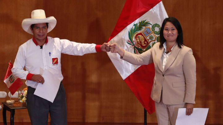 Debate Presidencial: reacciones, propuestas y frases de Keiko Fujimori vs  Pedro Castillo - AS Perú